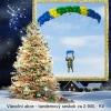 Vánoční akce - tandemový seskok za 2.900,-
