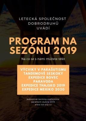 Program na sezónu 2019