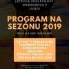 Program for the season 2019
