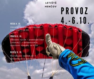 Provoz 4 - 6 10 2019 - ZRUŠEN(počasí)